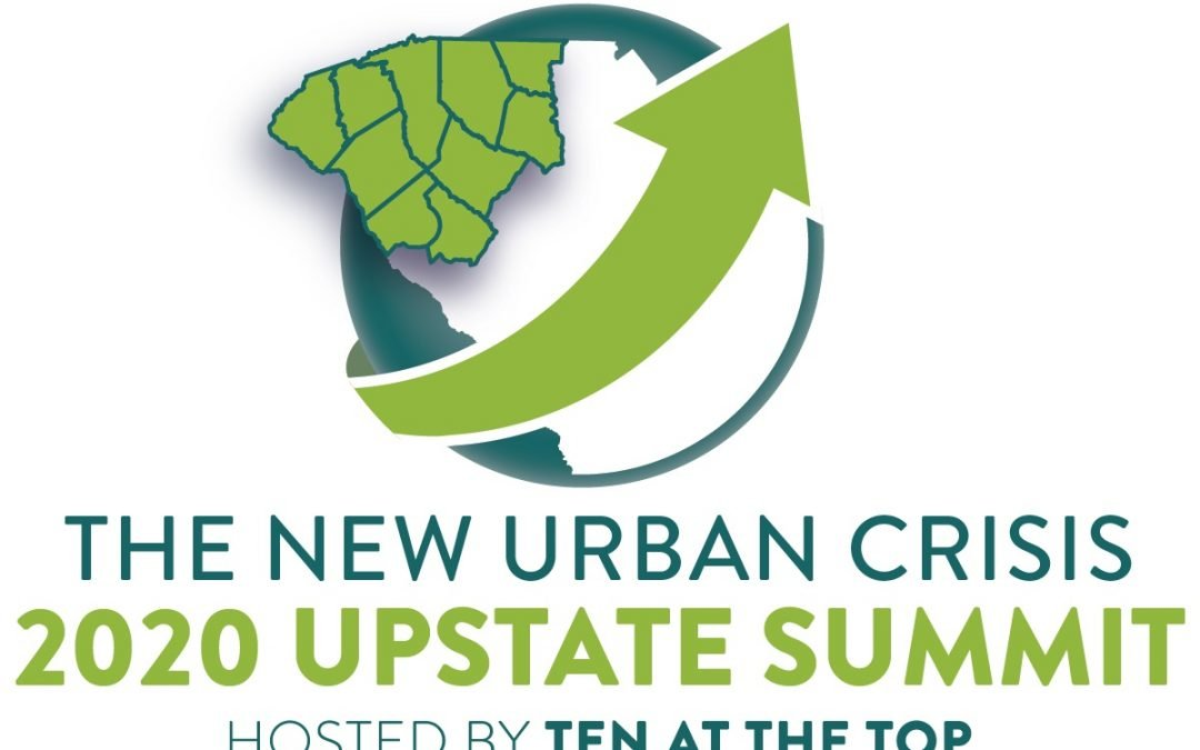 Ten at the Top Announces Date, Keynote Speaker and Topic for 2020 Upstate Regional Summit