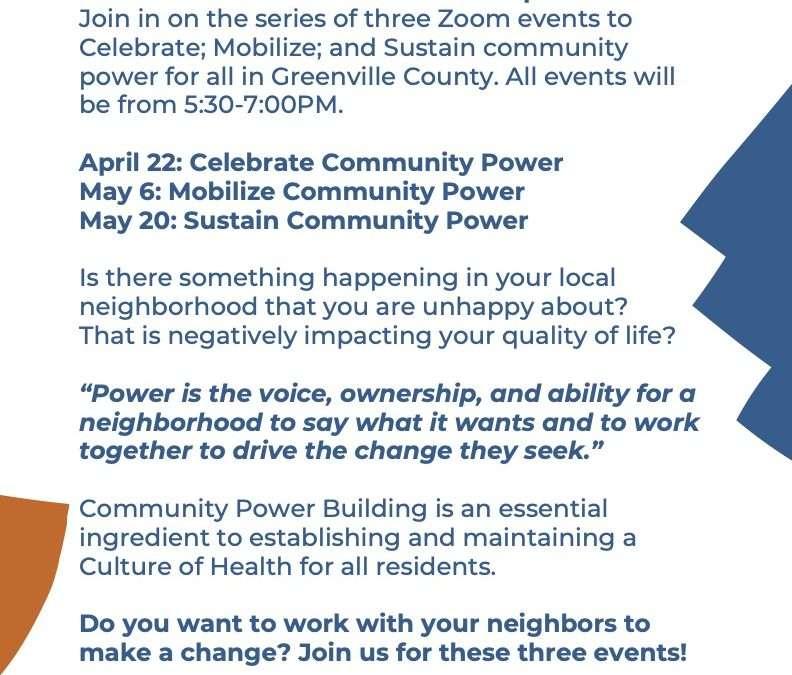 Mobilize Community Power