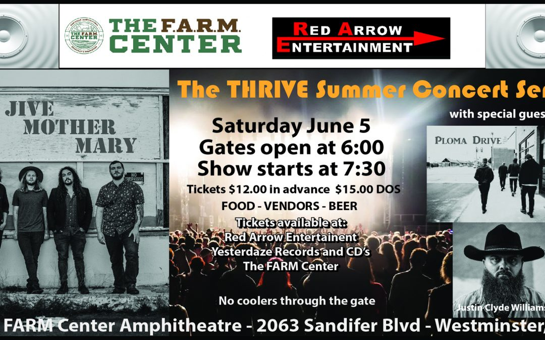 THRIVE Summer Concert Series
