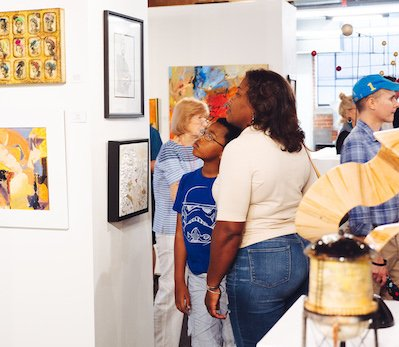 First Friday at Greenville Center for Creative Arts