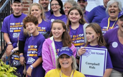 The Campbell Kids – Walking to End Alzheimer's